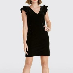 Just In⌚French Connection Velvet Party Dress